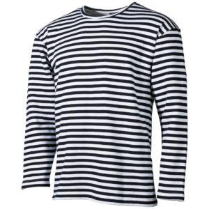 Тельняшка зимняя с начесом russian marine shirt longsleeve winter