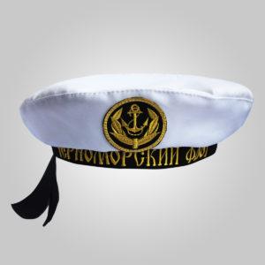Бескозырка детская Черноморский флот фас