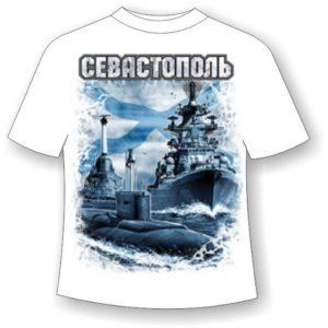 Футболка Севастополь Андреевский флаг №756