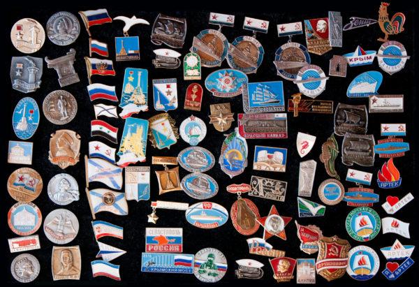 значки купить севастополь крым ссср корабли вежливые люди