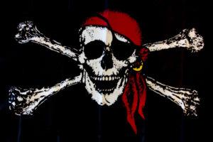 Флаг Веселый Роджер пиратский