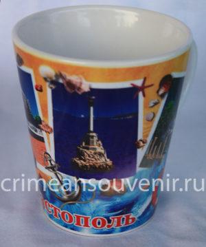 Кружка Севастополь коническая
