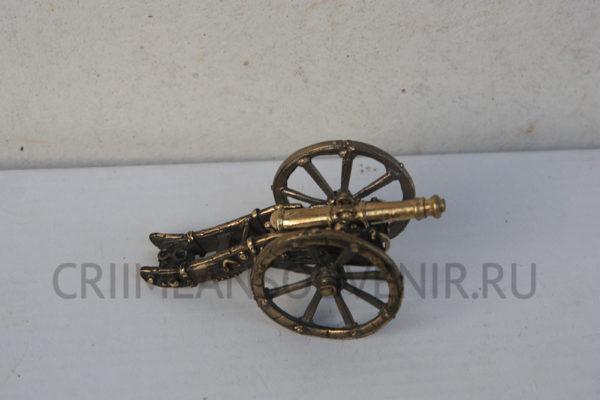 Пушка миниатюрная из латуни