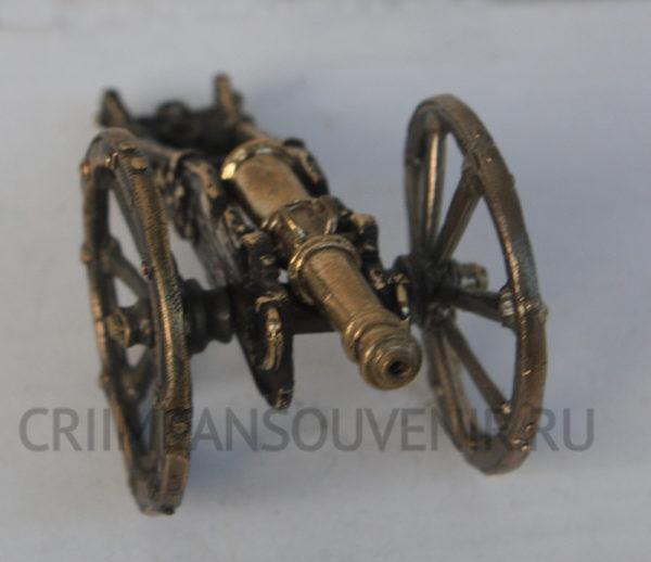 Миниатюра 12-фунтовой пушки системы Грибоваля - 5 литых деталей