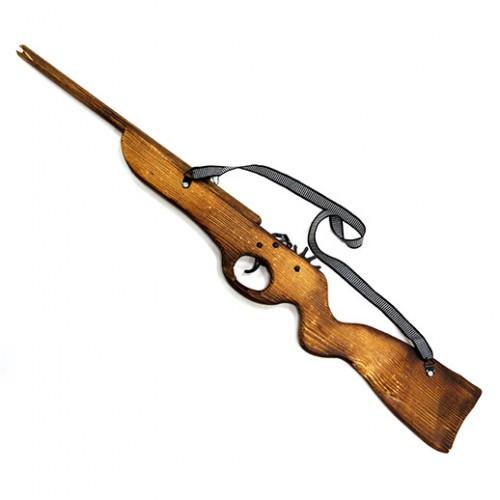 "Игрушка ""Винтовка"" из дерева- резинкострел"