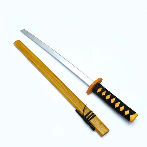 Игрушка меч-катана в ножнах из дерева (длинная)