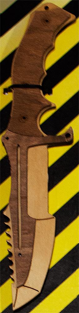 Нож охотничий дерево