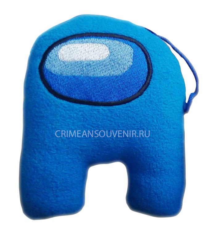 among us мягкая игрушка синяя