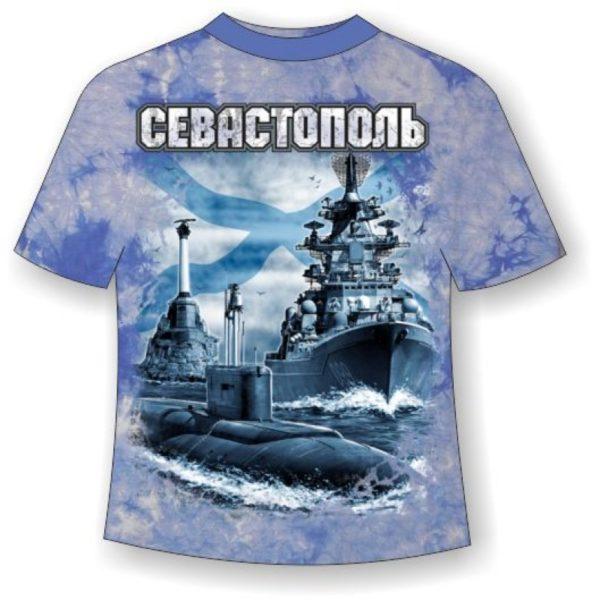 Футболка Севастополь город русский моряков варенка